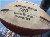 TERRELL DAVIS Football DAVIS #30